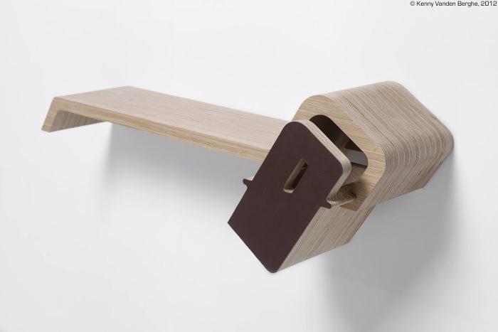 Interview : Kenny Vanden Berghe designer belge - Leather & Wood