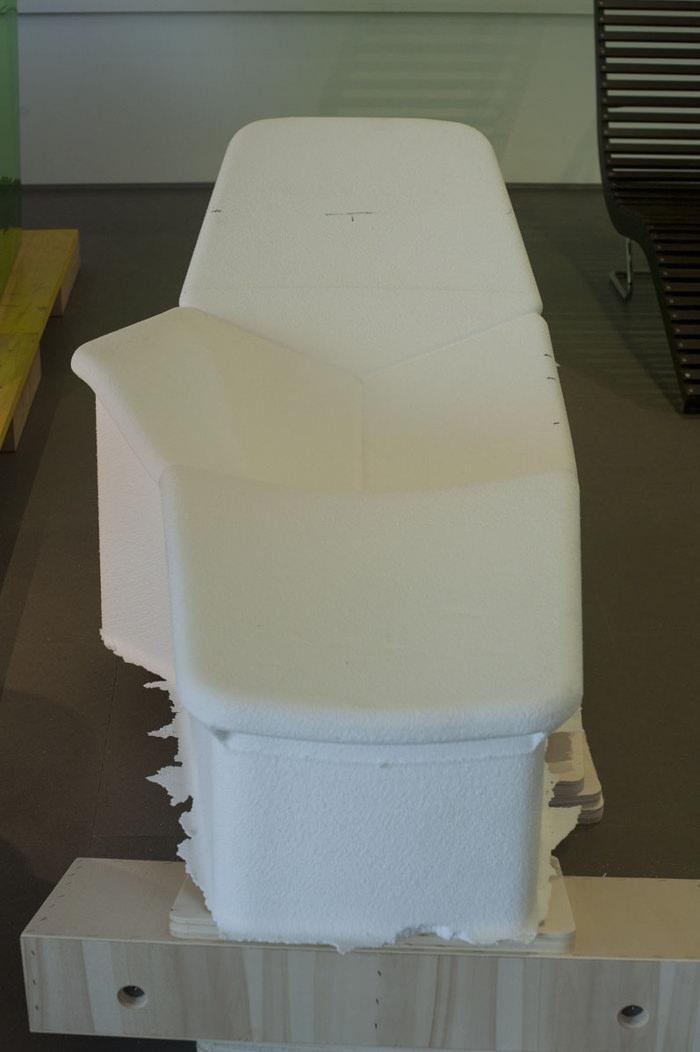Atelier - Chaise Atoll Patrick Norguet Designer pour Tacchini