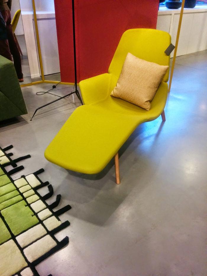 Modèle exposé - Chaise Atoll Patrick Norguet Designer pour Tacchini
