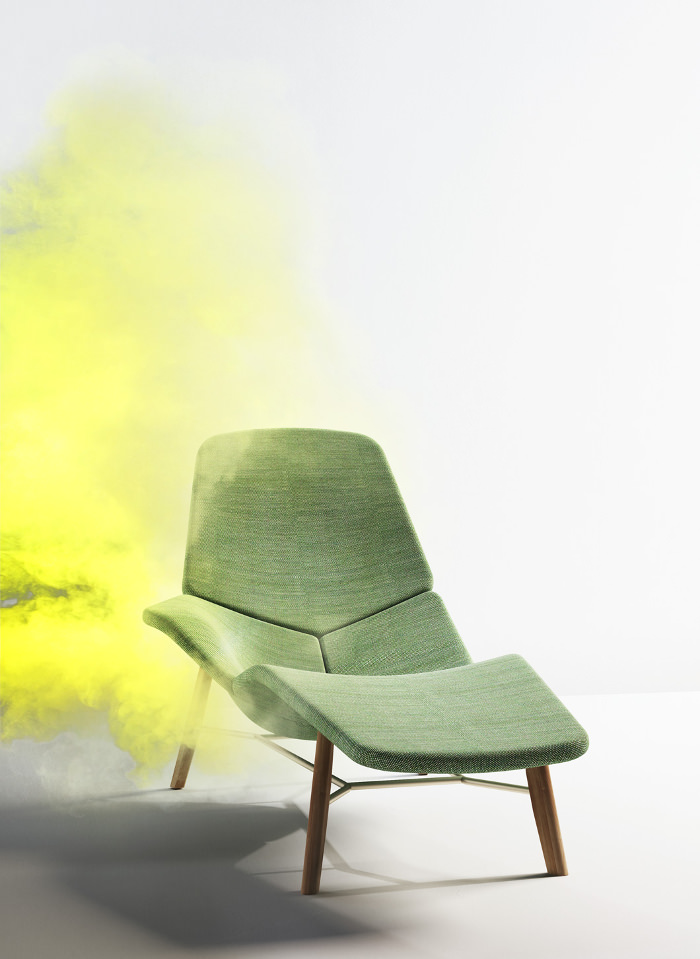 Chaise Atoll Patrick Norguet Designer pour Tacchini