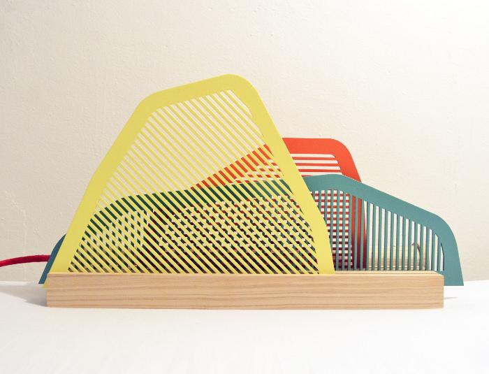 Lampe paysage par camille hesnard blog esprit design for Paysage design