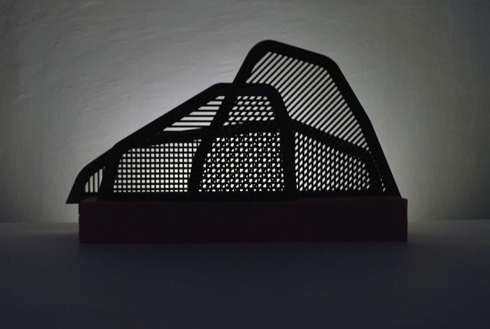 Lampe Paysage par Camille Hesnard