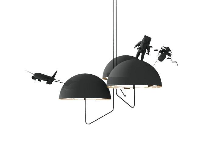 3D - Land lamps par Leonardo Fortino