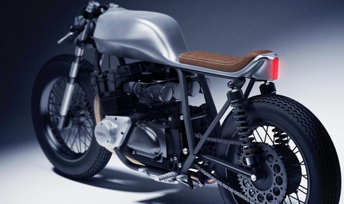 Moto Honda CB 1100 par Dimitri Bez