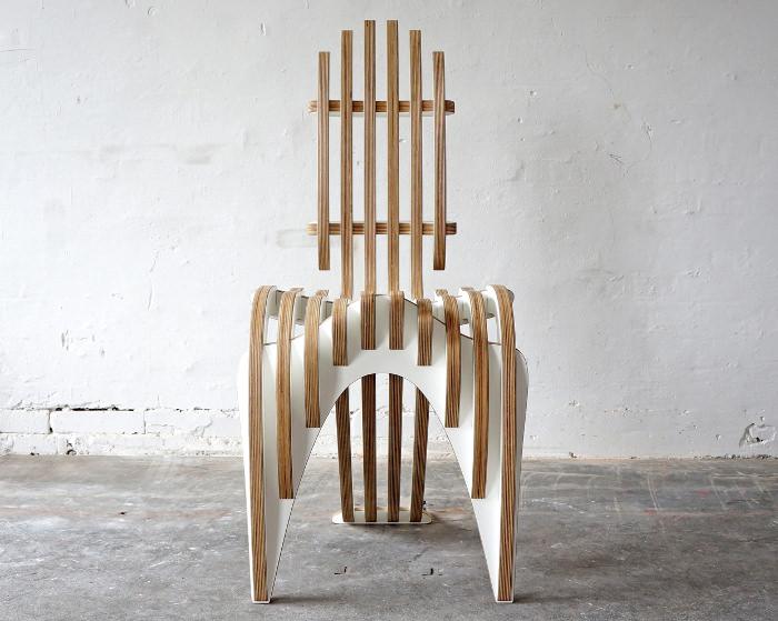 Peter Qvist mobilier à strates