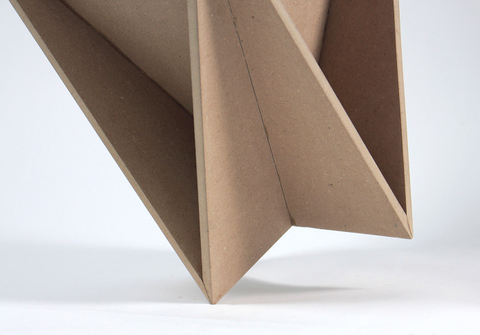 Details - Stool Concept tabouret origami par Guillaume Allemon