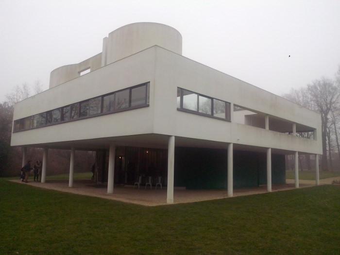 Tolix et la Villa Savoye