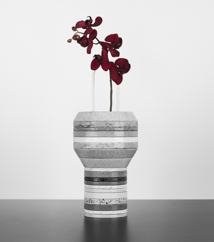 VASE SILESTONE SLAB PAR FORM US WITH LOVE ET COSENTINO - 2012