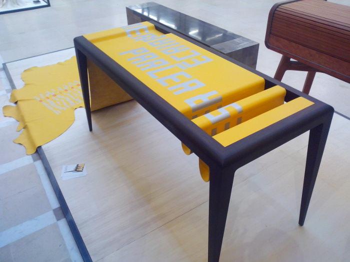 Exposition Design & Artisanat d'art Paris et Berlin - bureau VULUMEN par Atelier FREMY et Ludovic AVENEL