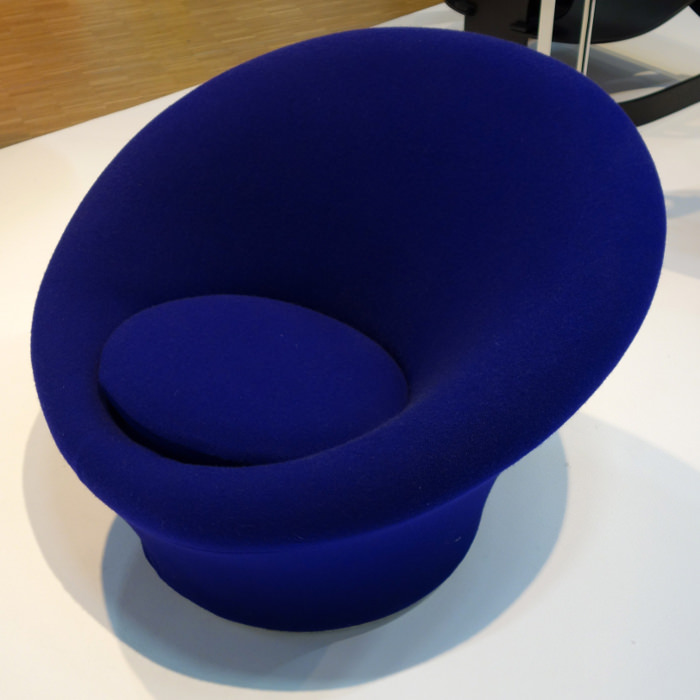 Fauteuil design mushroom designer pierre paulin blog espritdesign 5 blog es - L histoire du fauteuil ...