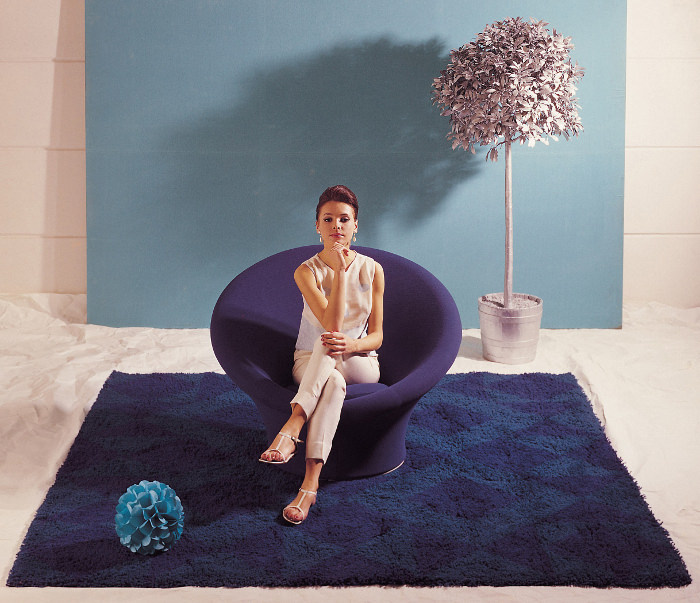 histoire de design fauteuil mushroom par pierre paulin 1959. Black Bedroom Furniture Sets. Home Design Ideas