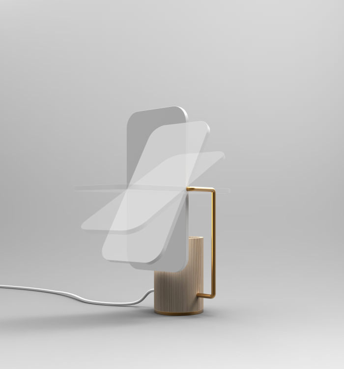 Concours CINNA - Lampe Oblon par Aymeric Audouin