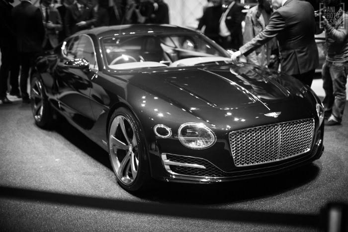 Bentley - Design et Courbes Salon automobile Genève 2015