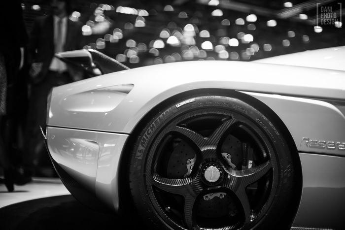 Koenigsegg - Design et Courbes Salon automobile Genève 2015
