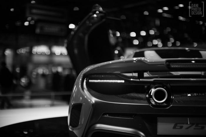 Mclaren- Design et Courbes Salon automobile Genève 2015