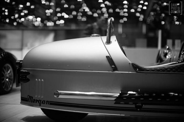 Morgan - Design et Courbes Salon automobile Genève 2015