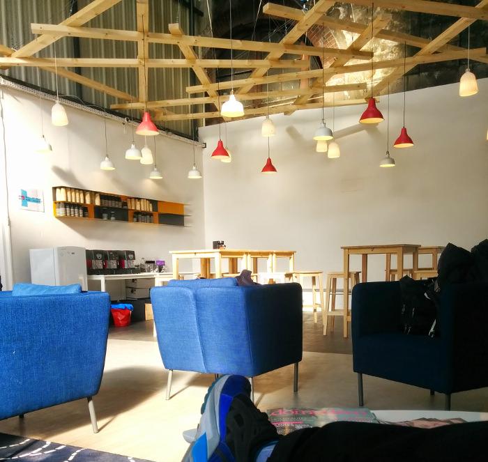 Un peu de détente - Espace Presse - Biennale Design 2015 - Cité du Design