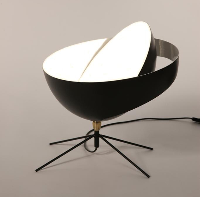 histoire de design les luminaires de serge mouille. Black Bedroom Furniture Sets. Home Design Ideas