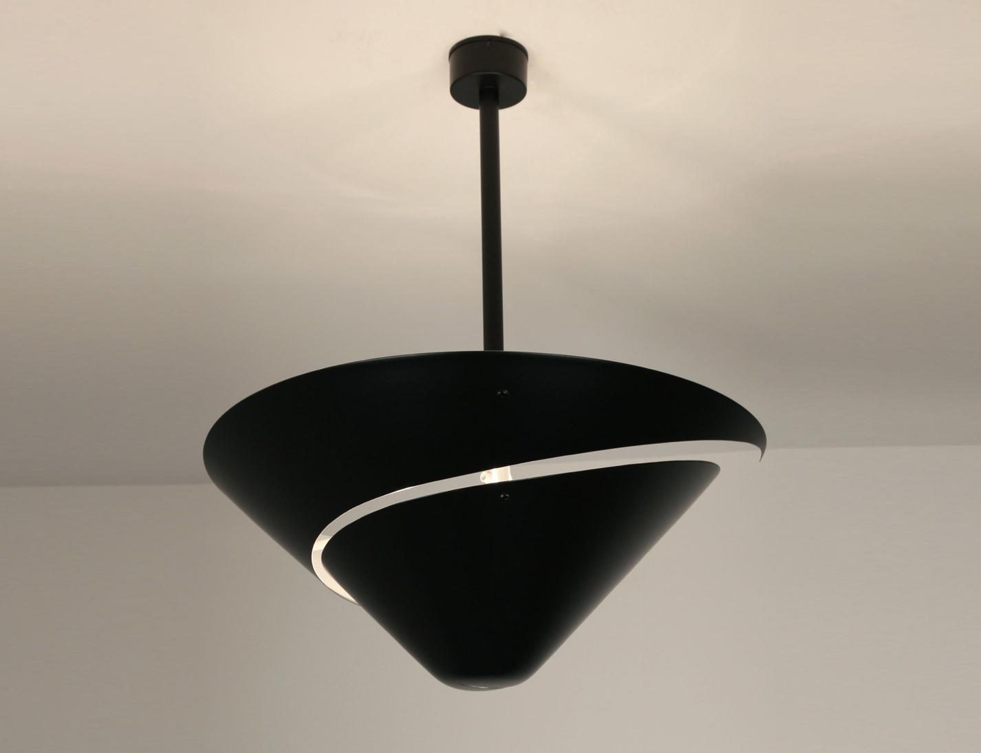 histoire de design les luminaires de serge mouille. Black Bedroom Furniture Sets. Home Design Ideas