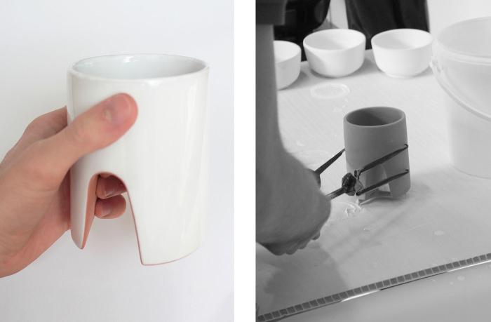 Mug réalisée avec la Faïencerie George, Florian Dach