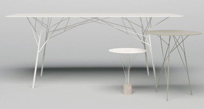TABLES ARBUSTES PAR ZHILI LIU - 2010