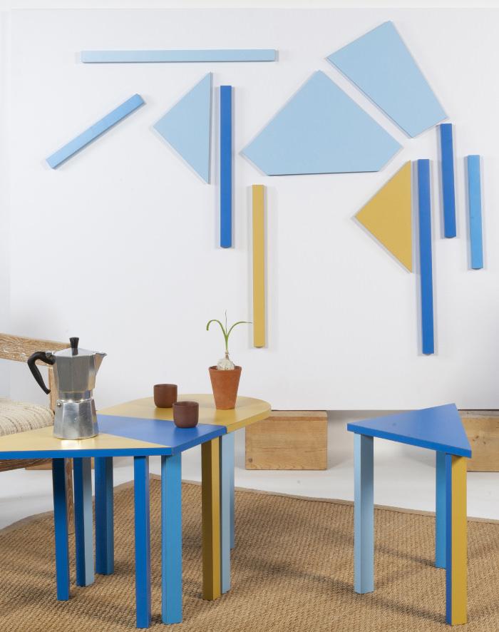 BAZDART mobilier intéractif par Célia Persouyre