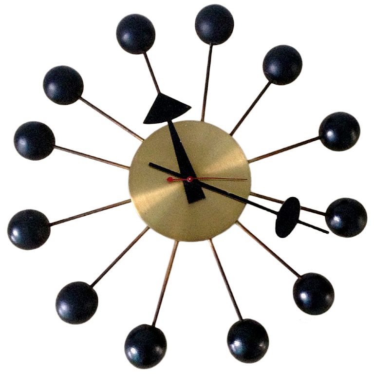 Ball Clock par Georges Nelson 1950