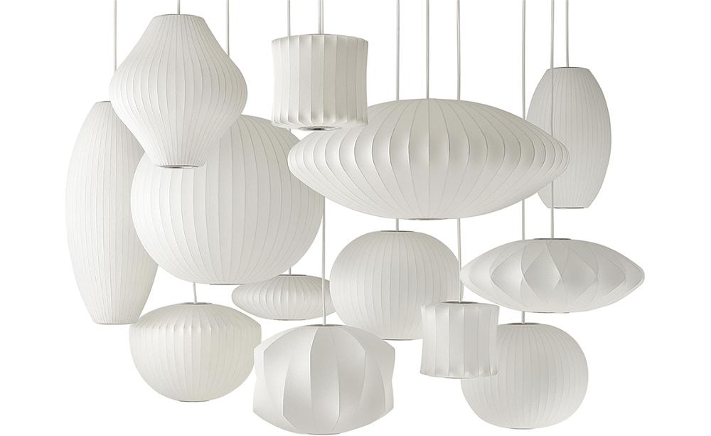 Bubble Lamp par Georges Nelson 1947