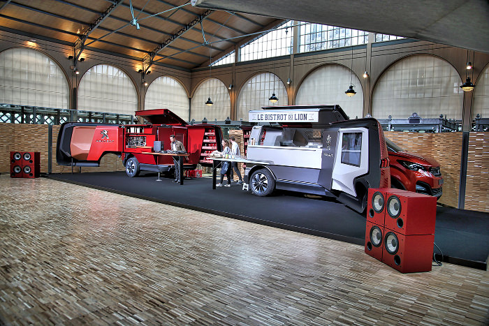 Peugeot repense le Foodtruck