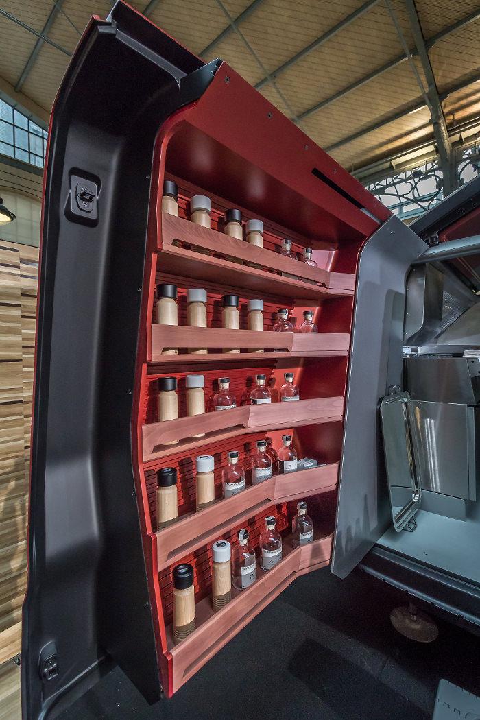 Moulins Peugeot - Peugeot repense le Foodtruck