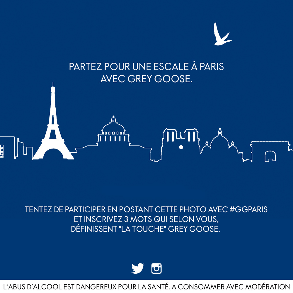 GREY GOOSE ESCALE PARIS