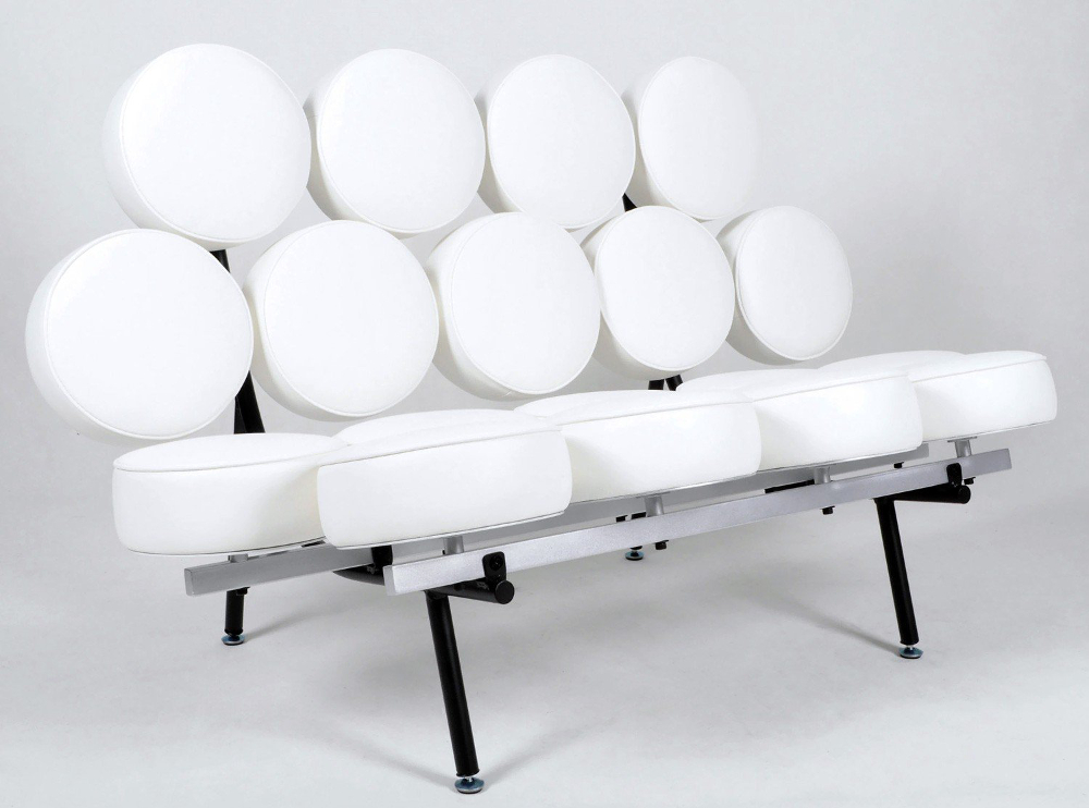 Histoire design canap marshmallow georges nelson 1956 for Canape le plus confortable