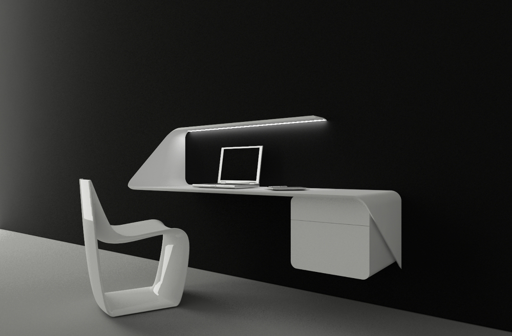 interview victor vasilev et son bureau tag re mamba. Black Bedroom Furniture Sets. Home Design Ideas