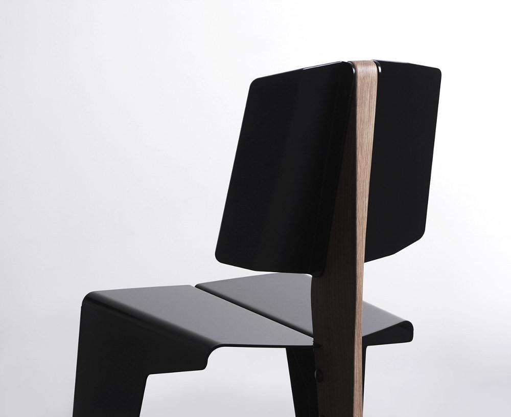 kobuz chaise bois métal par wo mierzwa - blog esprit design