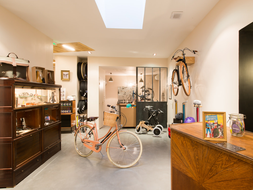 La bicycletterie - Lyon Shop & Design 2015