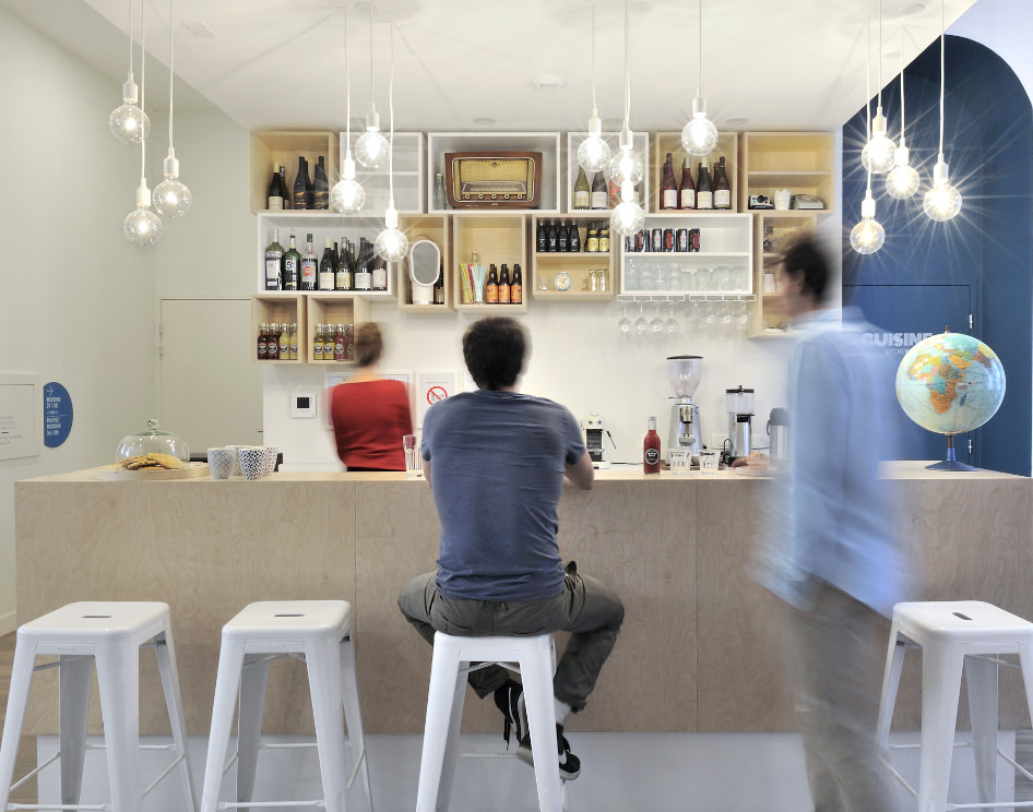 Slo Living Hostel - Lyon Shop & Design 2015