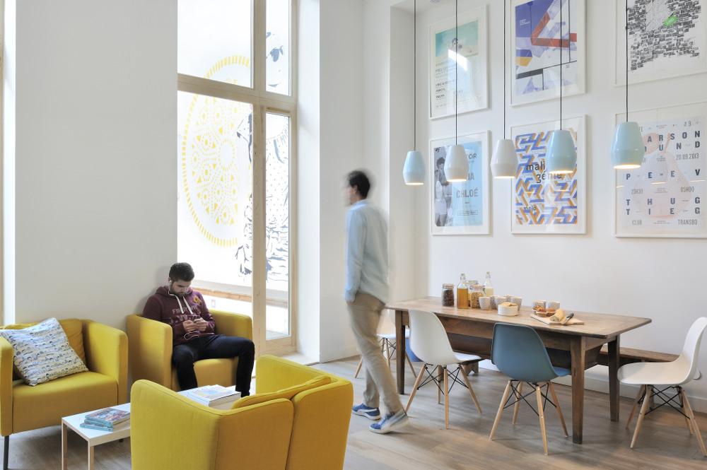 Slo Living Hostel - Lyon Shop & Design 2015