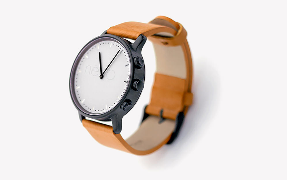 "NevoWatch: Une nouvelle montre connectée ""Made in France"""