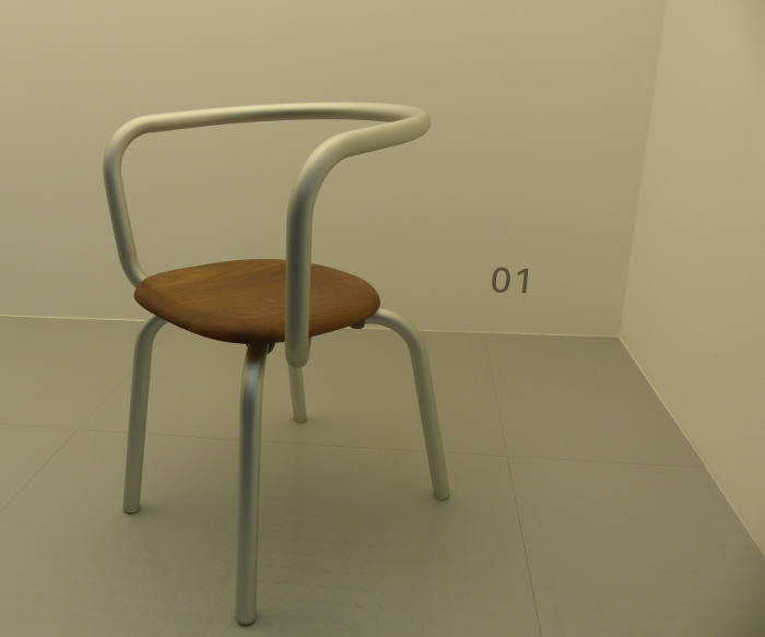 Parrish chair, par konstantin GRCIC