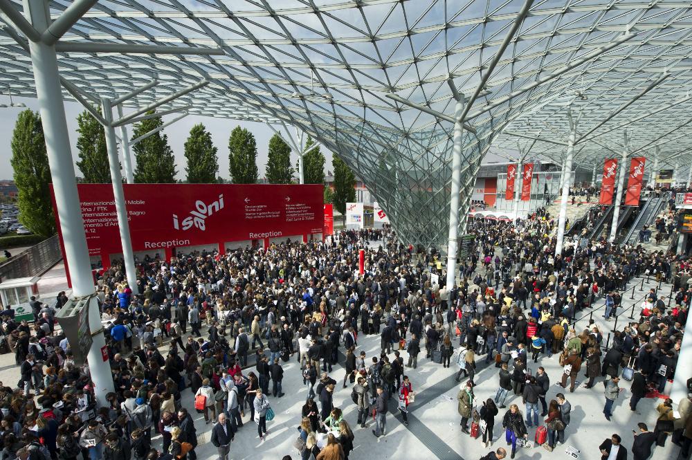 Salone del mobile Milan 2015 : Le Live