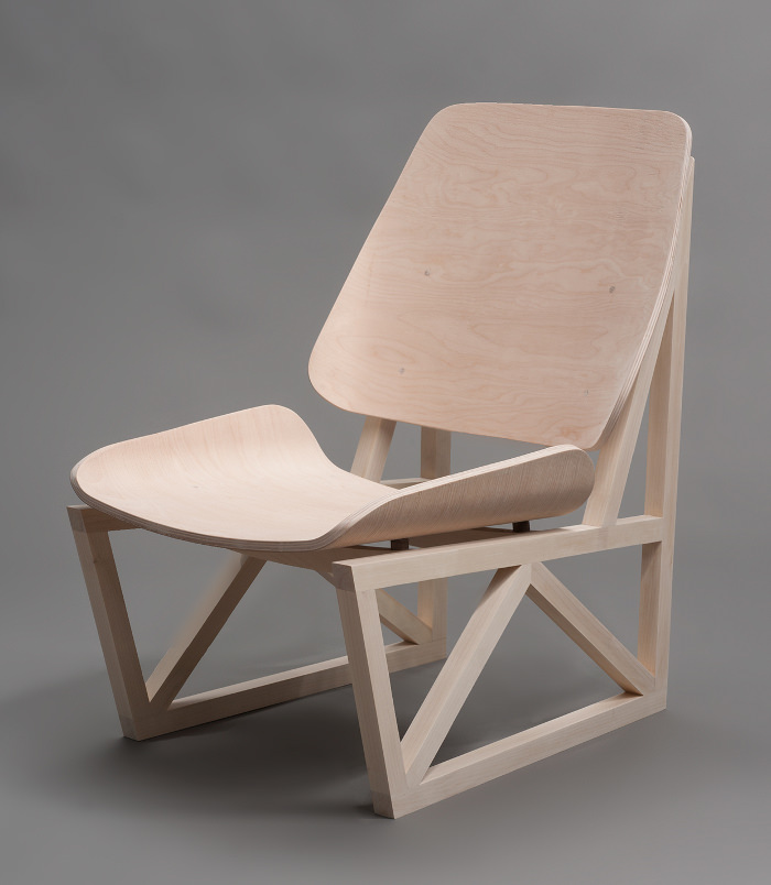 Seneca chair par Ian Cooke