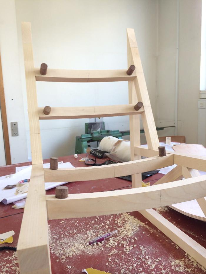 Seneca chair par Ian Cooke