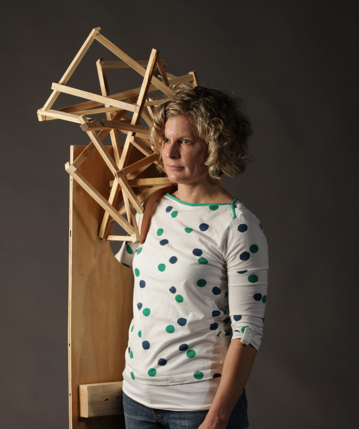 Wearable Sculptures par Tracy Featherstone