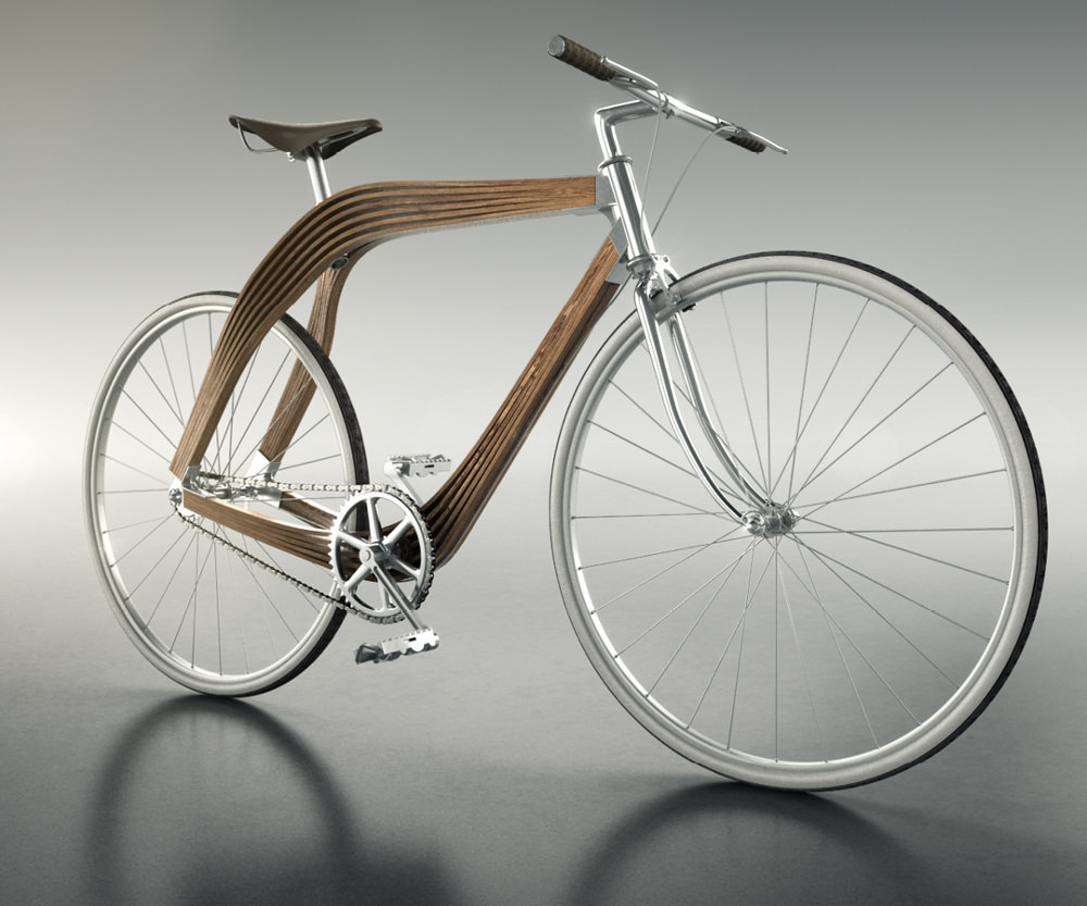 aero bike v lo en bois composite blog esprit design. Black Bedroom Furniture Sets. Home Design Ideas