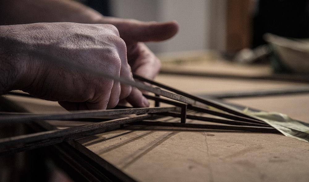 Clavicle Suffix collier bois par Mistforms