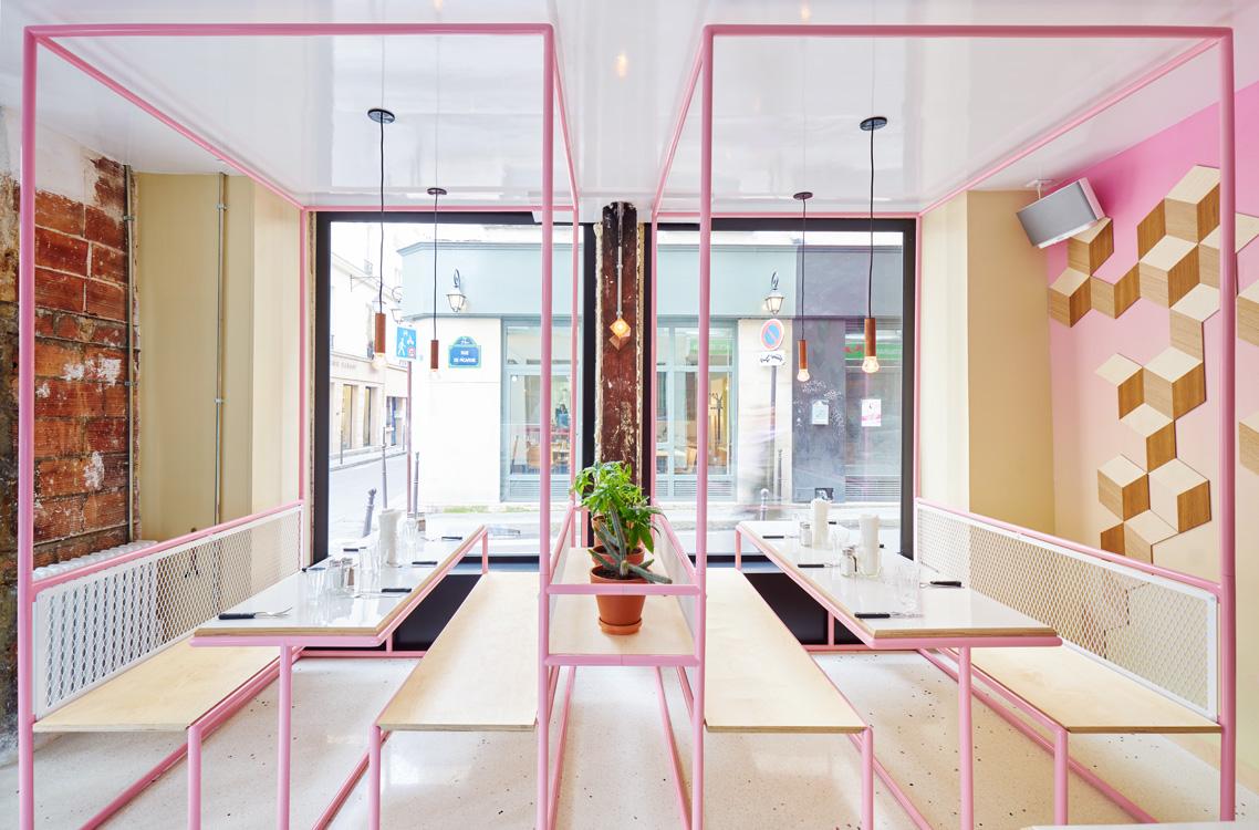 restaurant paris nouveau lieu le pny blog esprit design. Black Bedroom Furniture Sets. Home Design Ideas