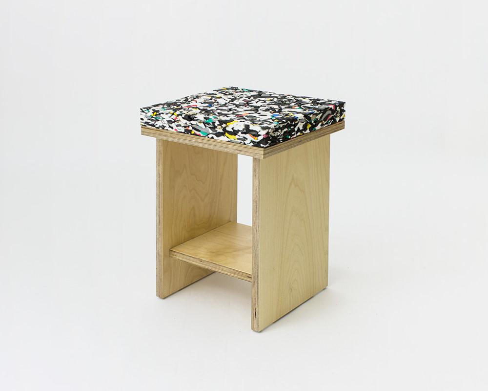 Marbled Stools par Davide G Aquini