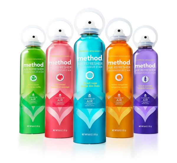 Method - Eco-Packaging & Produits d'entretien : Clean ways to clean