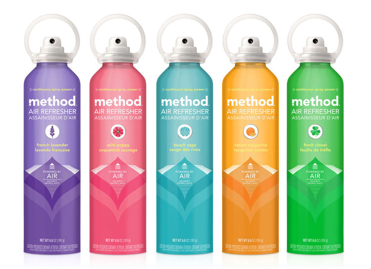 Method - Eco-Packaging & Produits d'entretien : Clean ways to clean