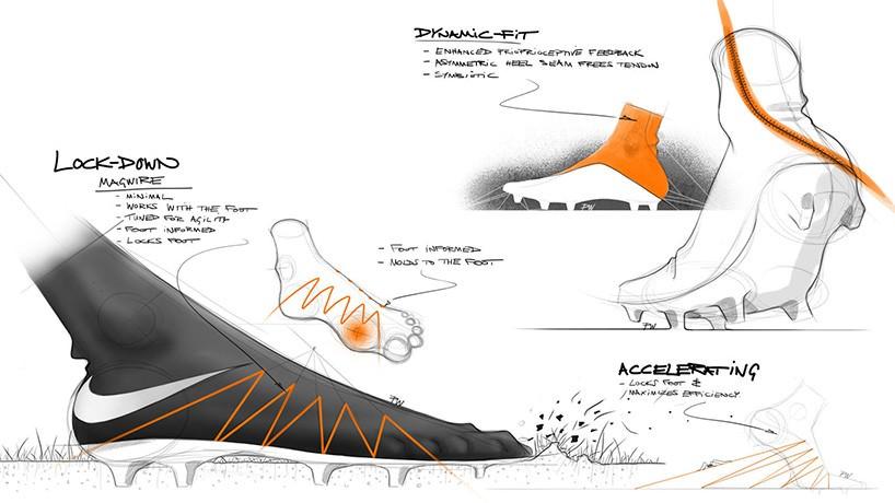 NIKE HYPERVENOM II design et performances sportives